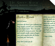 The Green Witch by IT-Serve web design Fife