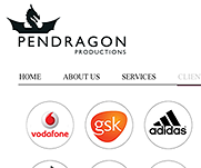 Pendragon Productions by IT-Serve web design Fife