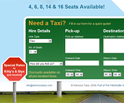 Wemyss Taxis by IT-Serve web design Fife